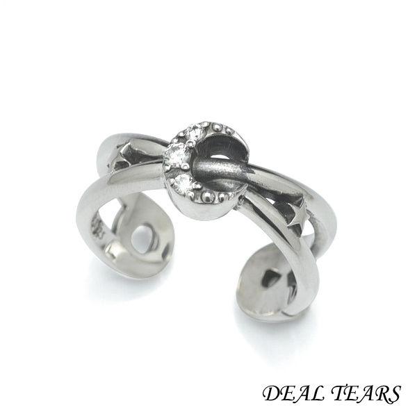 DEAL TEARS ディールティアーズ セーフティーピンリング(ムーン) レディース指輪 399244 【メーカー取り寄せ品】