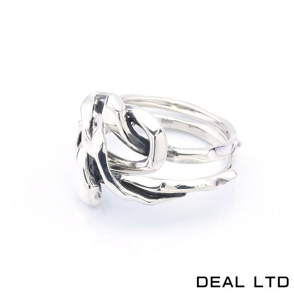 DEAL LTD ディールエルティーディー KNOT SNAKE RING DOUBLE 2連リング 310230【メーカー取り寄せ品】