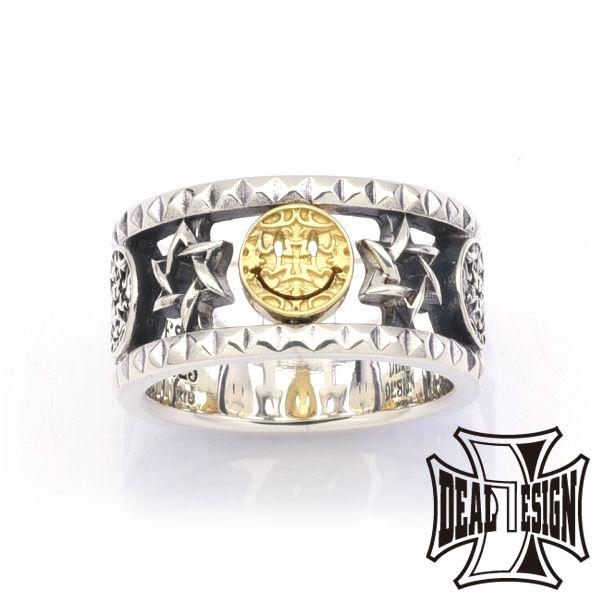 DEAL DESIGN ディールデザイン ナイトアンドデイリングK18コンビ メンズ 指輪 393227k18 【メーカー取り寄せ品】