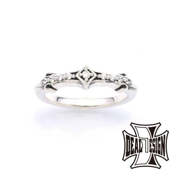 DEAL DESIGN ディールデザイン インセクトラインリング メンズ 指輪 393228 【メーカー取り寄せ品】