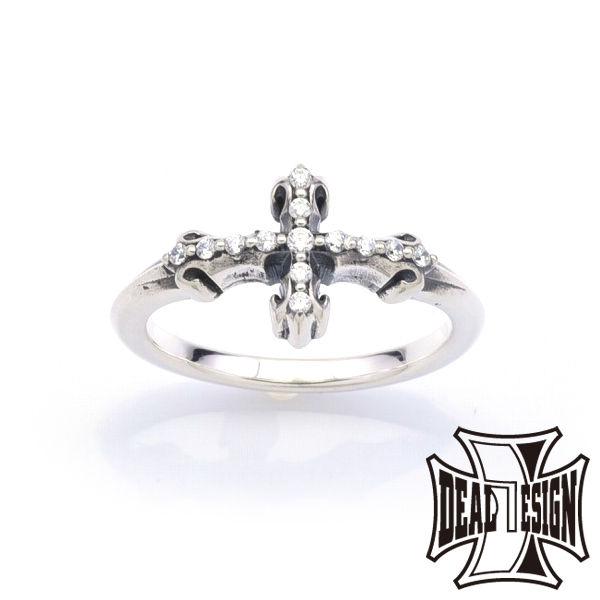 DEAL DESIGN ディールデザイン インセクトクロスリング メンズ 指輪 393229 【メーカー取り寄せ品】