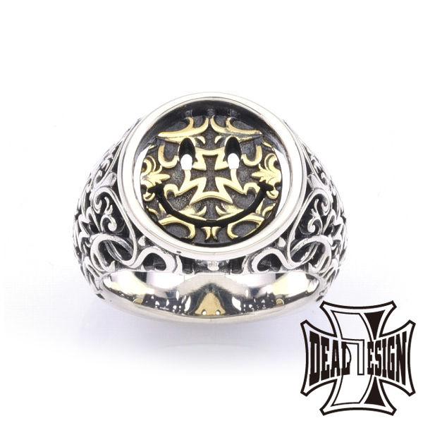 DEAL DESIGN ディールデザイン ナイトアンドデイカレッジ:ブラスコンビ メンズ 指輪 393233br 【メーカー取り寄せ品】