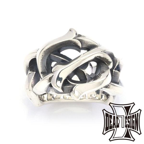 DEAL DESIGN ディールデザイン レイジングチェーンリング メンズ 指輪 393234 【メーカー取り寄せ品】