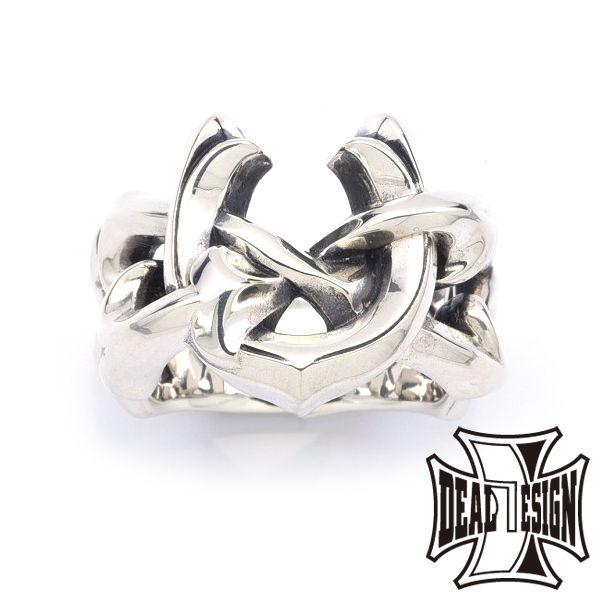 DEAL DESIGN ディールデザイン レイジングホースシューリング メンズ 指輪 393236 【メーカー取り寄せ品】