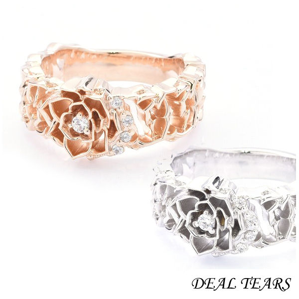 DEAL TEARS ディールティアーズ グラフィティローズリング レディース指輪 399246 【メーカー取り寄せ品】