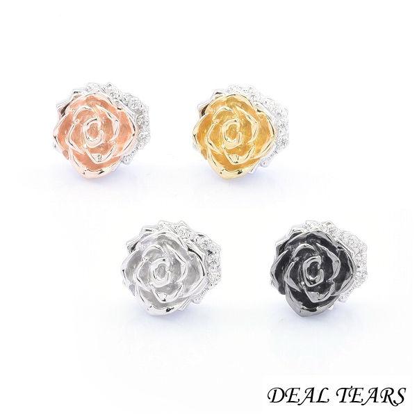 DEAL TEARS ディールティアーズ グラフィティローズピアス 片耳分 レディースピアス 399331 【メーカー取り寄せ品】