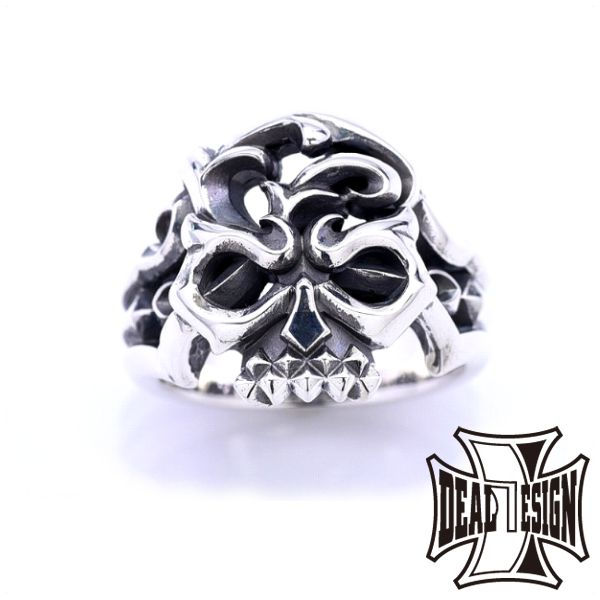 DEAL DESIGN ディールデザイン レイジングスカルリング メンズ 指輪 393238 【メーカー取り寄せ品】