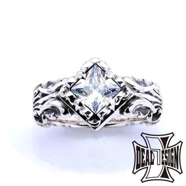 DEAL DESIGN ディールデザイン スクエアゲートリング メンズ 指輪 393241 【メーカー取り寄せ品】