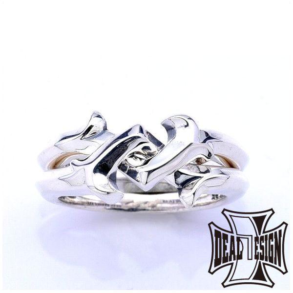 DEAL DESIGN ディールデザイン レイジングギメルリング メンズ 指輪 393247 【メーカー取り寄せ品】