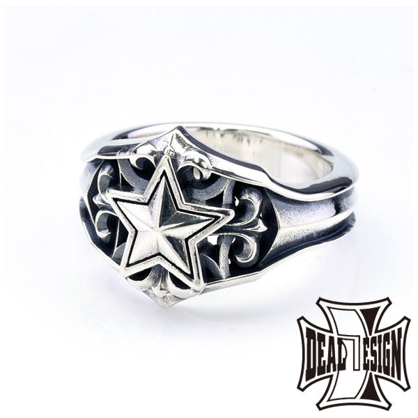 DEAL DESIGN ディールデザイン ポインテッドスターリング メンズ 指輪 393259 【メーカー取り寄せ品】