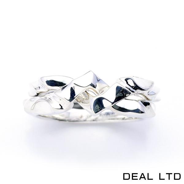 DEAL LTD ディールエルティーディー SILK CUT GIMEL RING シルバーリング 310246【メーカー取り寄せ品】