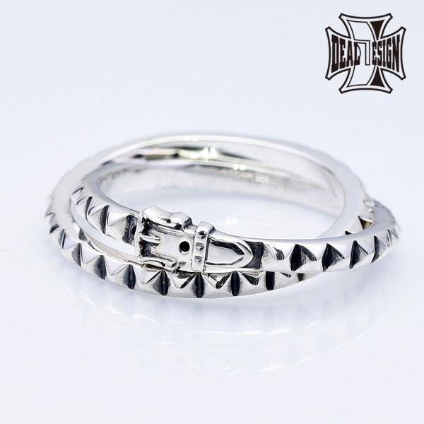 DEAL DESIGN ディールデザイン レイヤードスタッズリング:ダブル メンズ 指輪 393268 【メーカー取り寄せ品】