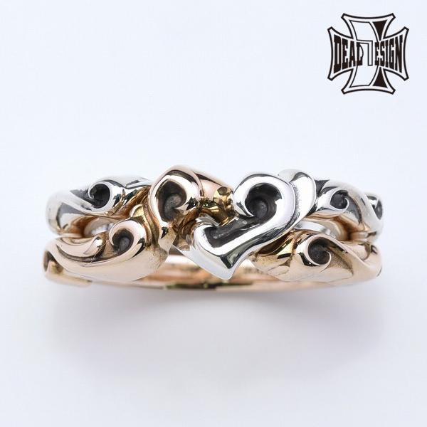 DEAL DESIGN ディールデザイン ハートギメルリング メンズ 指輪 393277 【メーカー取り寄せ品】