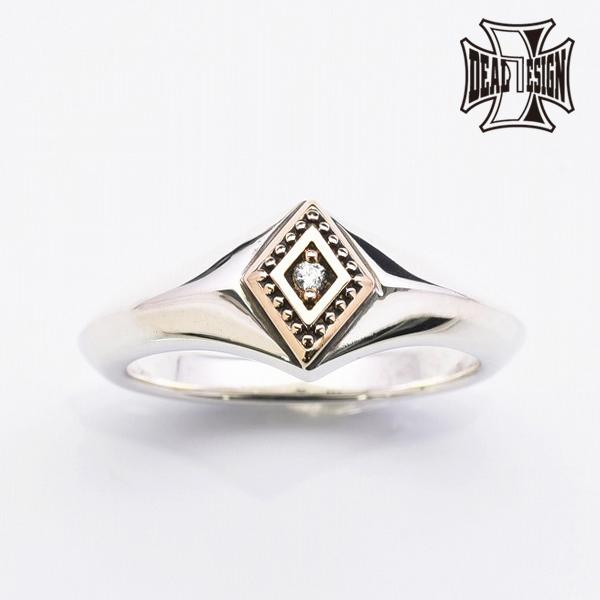 DEAL DESIGN ディールデザイン ファントムバーニッシュリング:MMBコンビ メンズ 指輪 393282 【メーカー取り寄せ品】