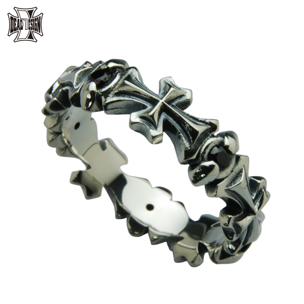 DEAL DESIGN ディールデザイン ロングクロスリング メンズ 指輪 392230 【メーカー取り寄せ品】