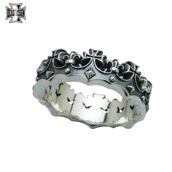 DEAL DESIGN ディールデザイン クラウンセメタリーリング メンズ 指輪 392244 【メーカー取り寄せ品】