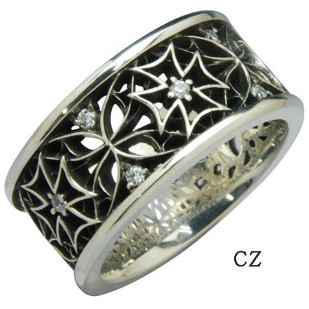 DEAL DESIGN ディールデザイン クロスウェブリング メンズ 指輪 392248 【メーカー取り寄せ品】