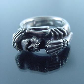メーカー取り寄せ品/スカルスクリームリング/指輪/Gemina/ジェミナ
