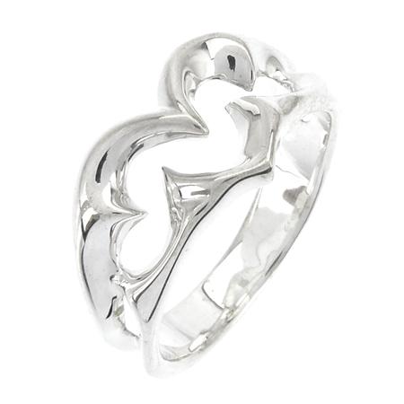 GIGOR ジゴロウ トライバルハートリング(S) メンズ指輪 No.022【メーカー取り寄せ品】