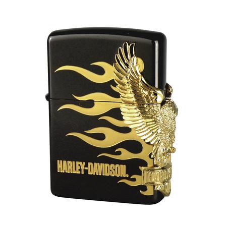 メーカー取り寄せ品HDP-01 ブラックボディー&ゴールドメタリックイーグル/ZIPPO/HARLEY-DAVIDSON/ハーレーダビッドソン, Choice!:c6fb195c --- officewill.xsrv.jp