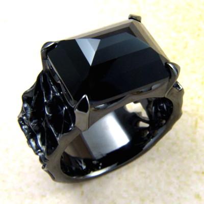 メーカー取り寄せ品/ロイヤルソーニーリング(ブラック)/指輪/holloow/ホロウ