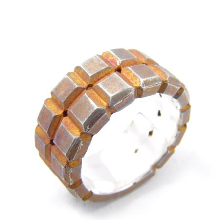 メーカー取り寄せ品/フィールドリング(RUST)/指輪/holloow/ホロウ