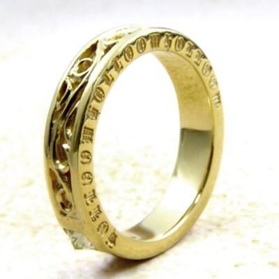 メーカー取り寄せ品/Q.A.Rリトルヴェンデッタリング(ゴールド)/指輪/holloow/ホロウ