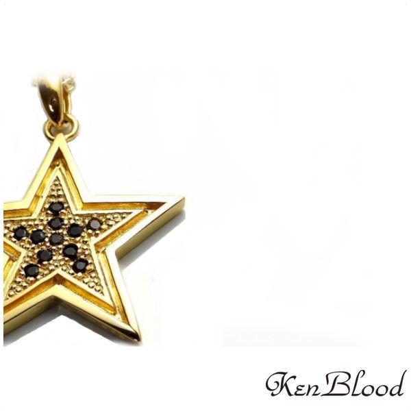 メーカー取り寄せ品/KP-414 ペンダント/ゴールド/Ken Blood/ケンブラッド