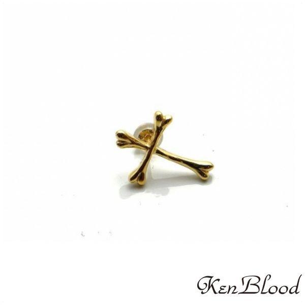 メーカー取り寄せ品/KP-425A-K10ピアス/片耳分/Ken Blood/ケンブラッド