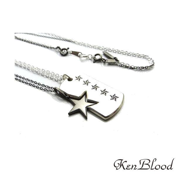 メーカー取り寄せ品/KP-411BK ペンダント/ブラック/Ken Blood/ケンブラッド
