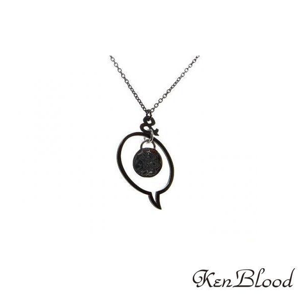 メーカー取り寄せ品/KP-421 ペンダント/ブラック/Ken Blood/ケンブラッド