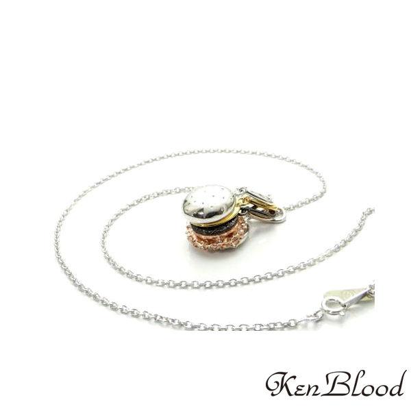 送料無料 メーカー取り寄せ品 KP-445 新作 人気 ペンダント 格安 価格でご提供いたします Blood ケンブラッド シルバー Ken