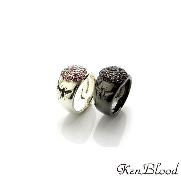激安超特価 送料無料 メーカー取り寄せ品 ディスカウント KR-268 リング Blood シルバーリング Ken ケンブラッド