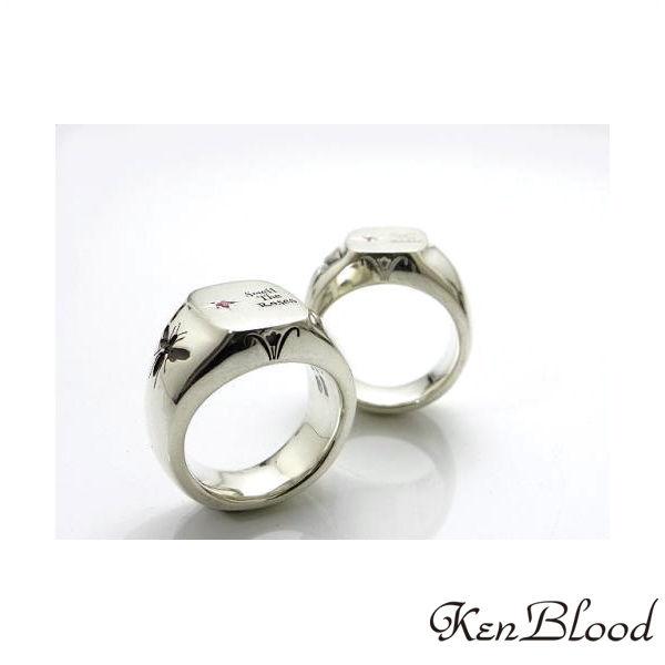 メーカー取り寄せ品/KR-269 リング/シルバー/Ken Blood/ケンブラッド
