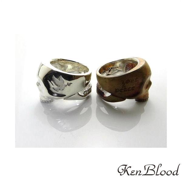 メーカー取り寄せ品/KR-270 リング/シルバー/Ken Blood/ケンブラッド