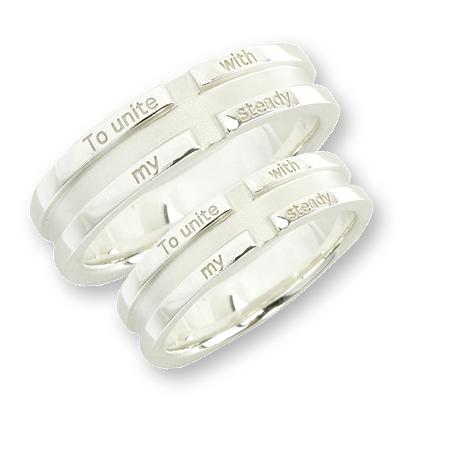 メーカー取り寄せ品 LSR0017 シルバーペアリング 指輪 LOVERS SCENE ラバーズシーン ペアアクセサリーLSMqGUVpjz