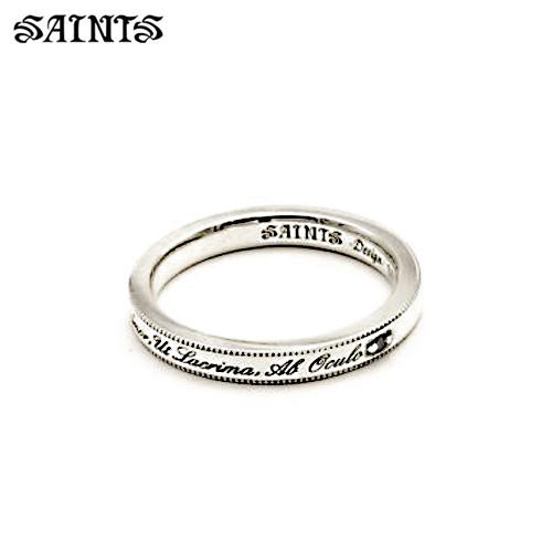 メーカー取り寄せ品/ブラックダイヤモンドメッセージリング/SAINTS/セインツ