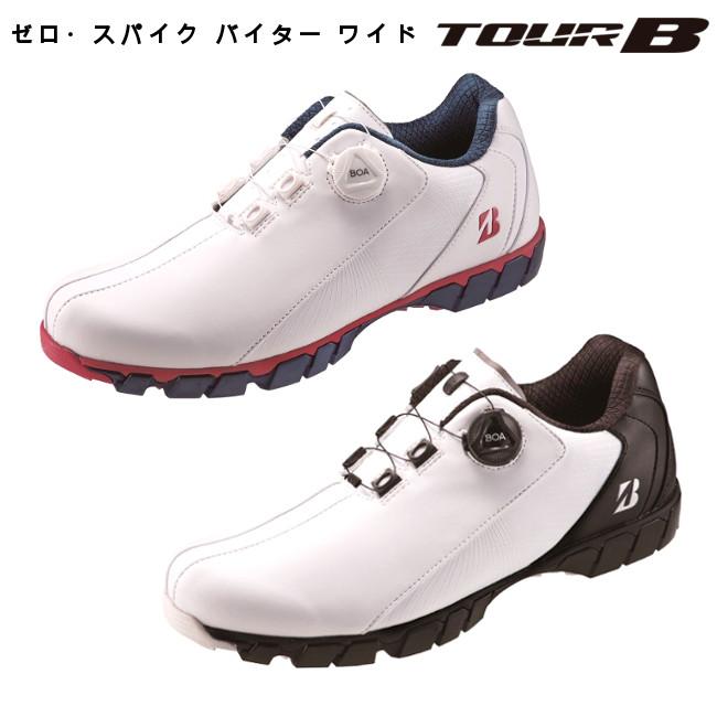 ●ポイント10倍● ワイド設計 幅広4E ブリヂストン ゴルフ SHG080 ゼロ・スパイク バイター ワイド 4E ZSP-BITER WIDE ゴルフシューズ /BRIDGESTONE GOLF TOUR B