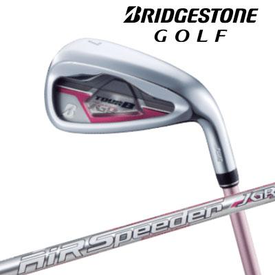 【送料無料】【2019年モデル】ブリヂストン ゴルフ TOUR B JGR LADY レディース アイアン5本セット(#7~#9、PW、SW)(ピンク:特注カスタム品)[AiR Speeder JGR for Ironシャフト]/BRIDGESTONE GOLF