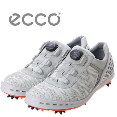 【送料無料】ECCO エコーEG132524 CAGE GOLF MENS BOAケージ ゴルフシューズ メンズ(ホワイト)