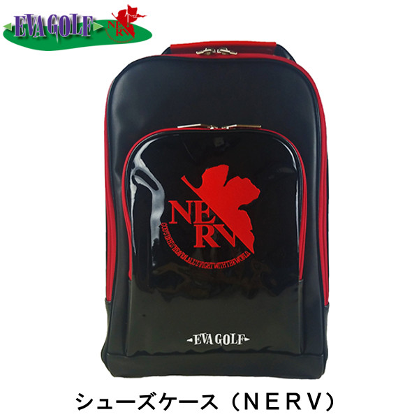 【送料無料】エヴァンゲリオン シューズケース(NERV)【EVA GOLF】