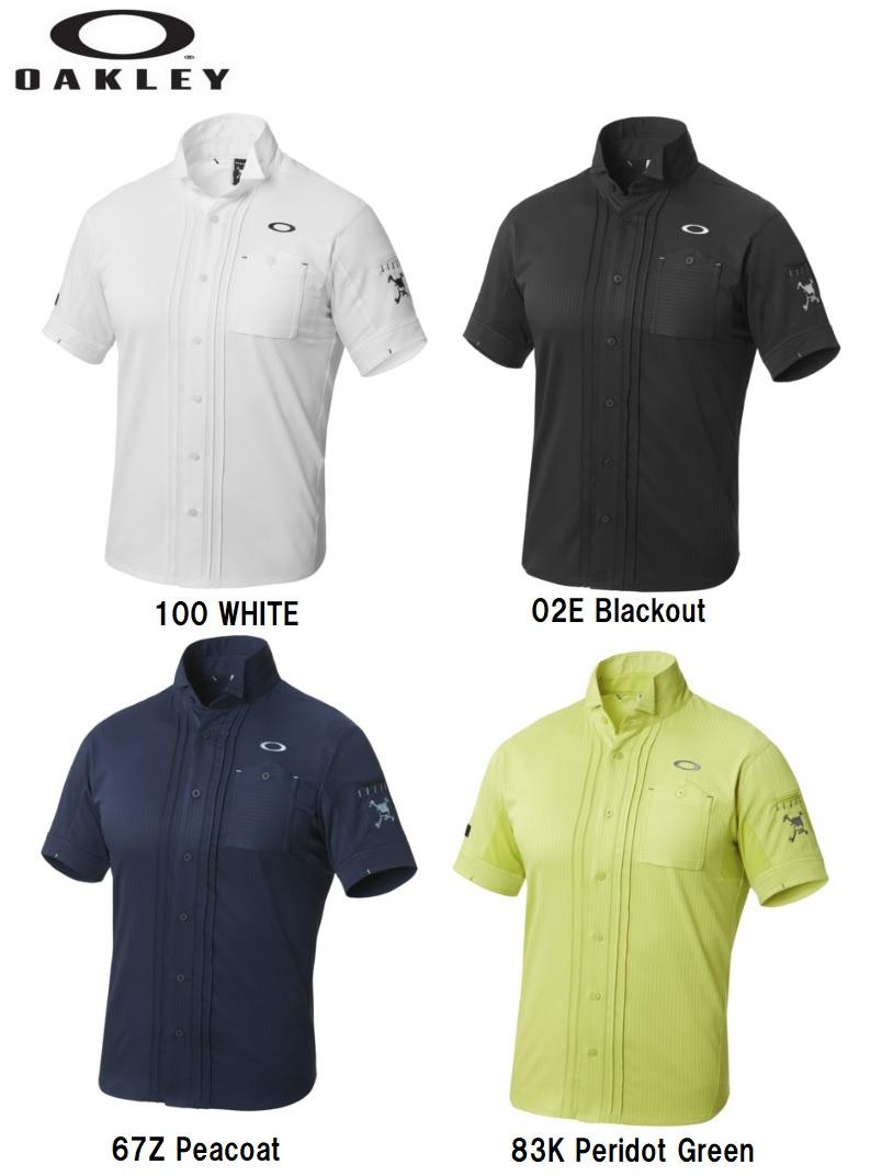 【オークリー】【2018年春夏モデル】メンズ ゴルフ ポロシャツ 401894JP  OAKLEY SKULL TUCK COL CASSE SHIRTS 2.0【全国一律送料無料】