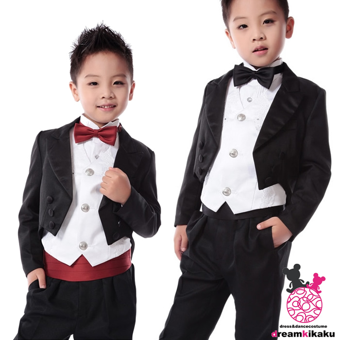 3aadaa2996d561 Boys Tuxedo luxury seven-point set formal suits boys children tails wedding  90 cm 100 cm 110 cm 120 cm 130 cm 140 cm 150 cm kids children suit boys ...