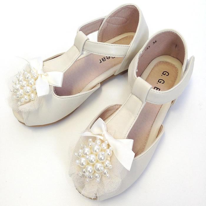 37381145a28d0 ホワイトフォーマル七五三発表会靴シューズキッズシューズ子供シューズ子供シューズフォーマル靴女の子