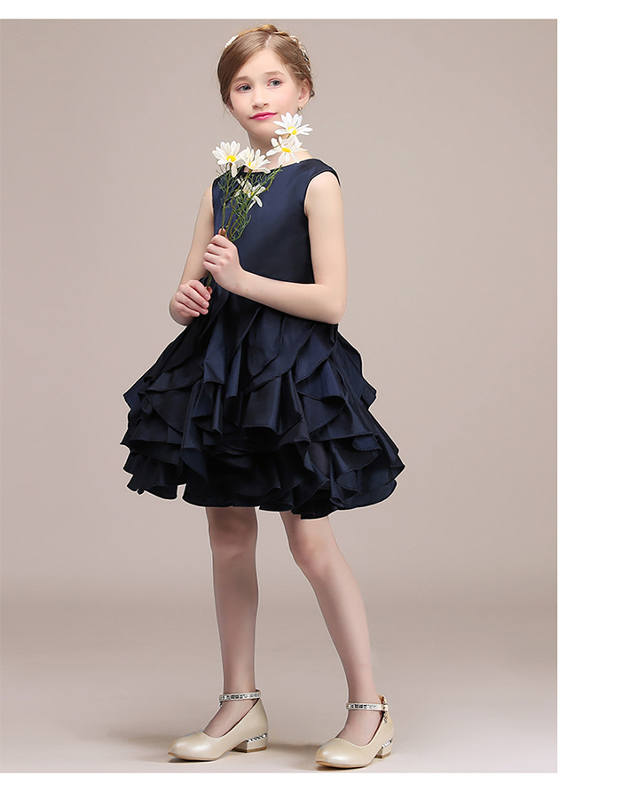 5bc70ec4f ... Child dress presentation wedding ceremony photography society concert clothes  dress child 100/110/120 ...