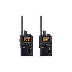 KENWOOD/ケンウッドUBZ-M51S(ブラック)特定小電力トランシーバー中継器対応2台セット(無線機・インカム)