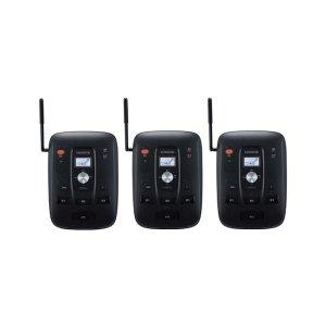 KENWOOD/ケンウッドUBZ-S700中継局対応 特定小電力トランシーバー(ベース機 )3台セット(無線機・インカム)