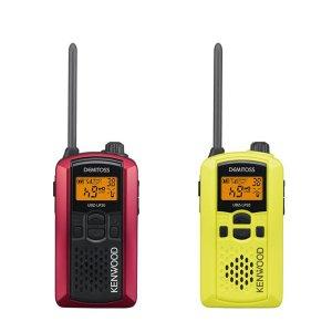 KENWOOD/ケンウッドUBZ-LP20RD(レッド)+UBZ-LP20Y (イエロー)特定小電力トランシーバー2台セット(無線機・インカム)
