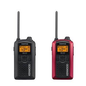 KENWOOD/ケンウッドUBZ-LP20RD(レッド)+UBZ-LP20B(ブラック)特定小電力トランシーバー2台セット(無線機・インカム)