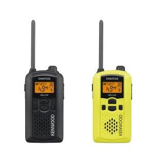 KENWOOD/ケンウッドUBZ-LP20Y(イエロー)+UBZ-LP20B(ブラック)特定小電力トランシーバー2台セット(無線機・インカム)